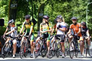 Cyklister i Borås 2014.
