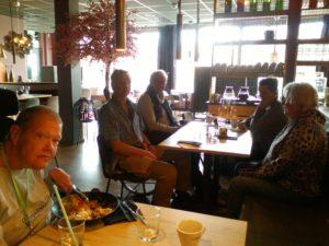 Medlemmar på Restaurangbesök på Sobi i Örebro den 21 april 2021